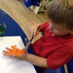 Making hand prints
