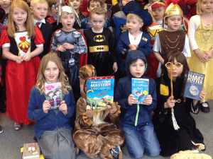 Ilkley Primary - World Book Day