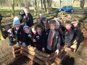 Ilkley Primary - Forest schools