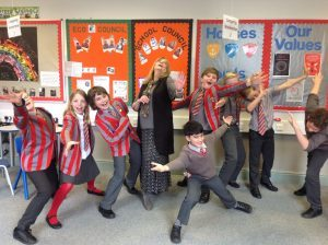 Ilkley Primary - Drama club