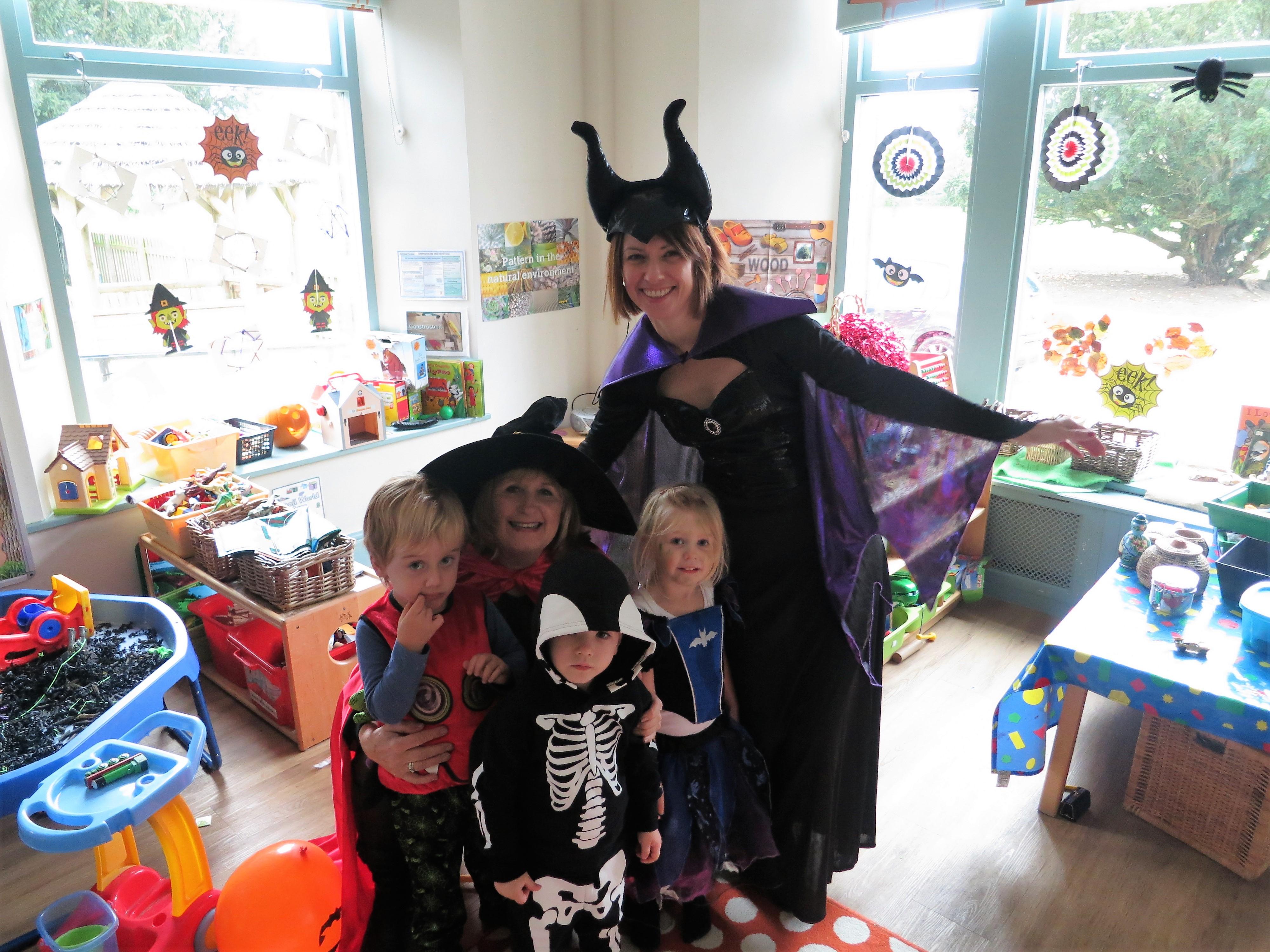 Halloween at Ghyll Royd School