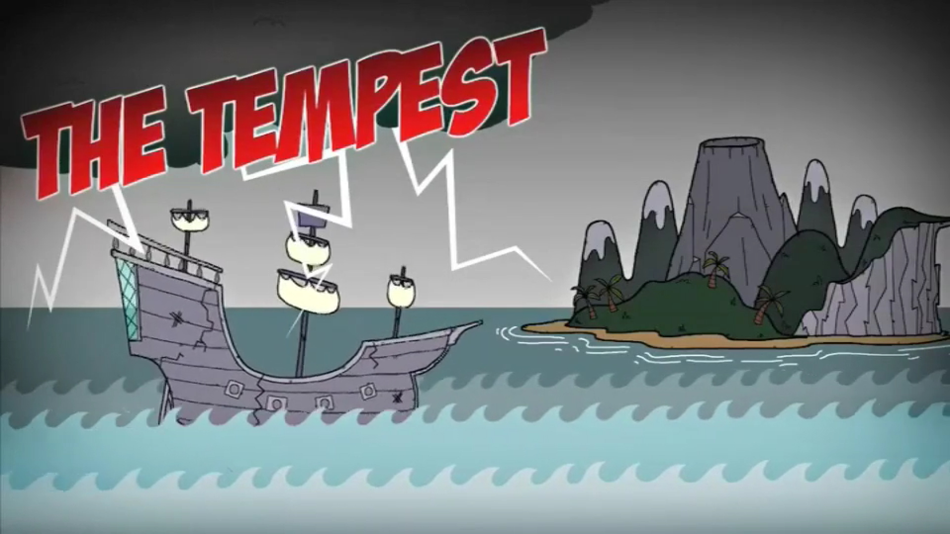 Key Stage Two presents: The Tempest