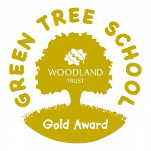 Woodland Trust Gold Award crest