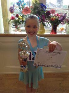 Pupil awarded a Ballet scholarship