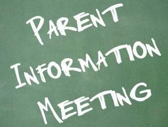 Parent Information Afternoon