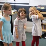 Early Years Ballet pupils smiling