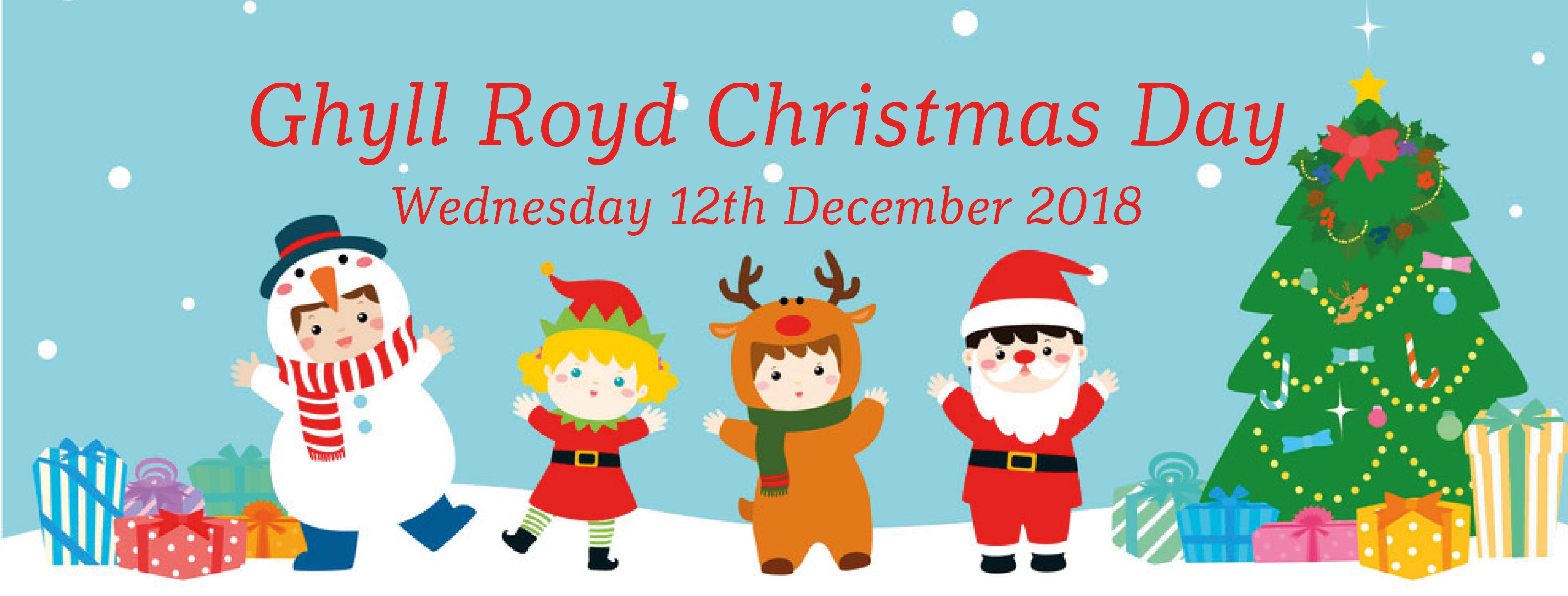 Christmas Day at Ghyll Royd School