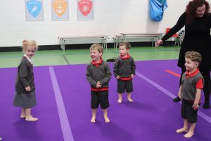 Gym4Tots children enjoying Gymnastics