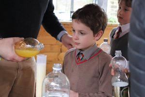 Ghyll Royd pupil takes part in science experiment