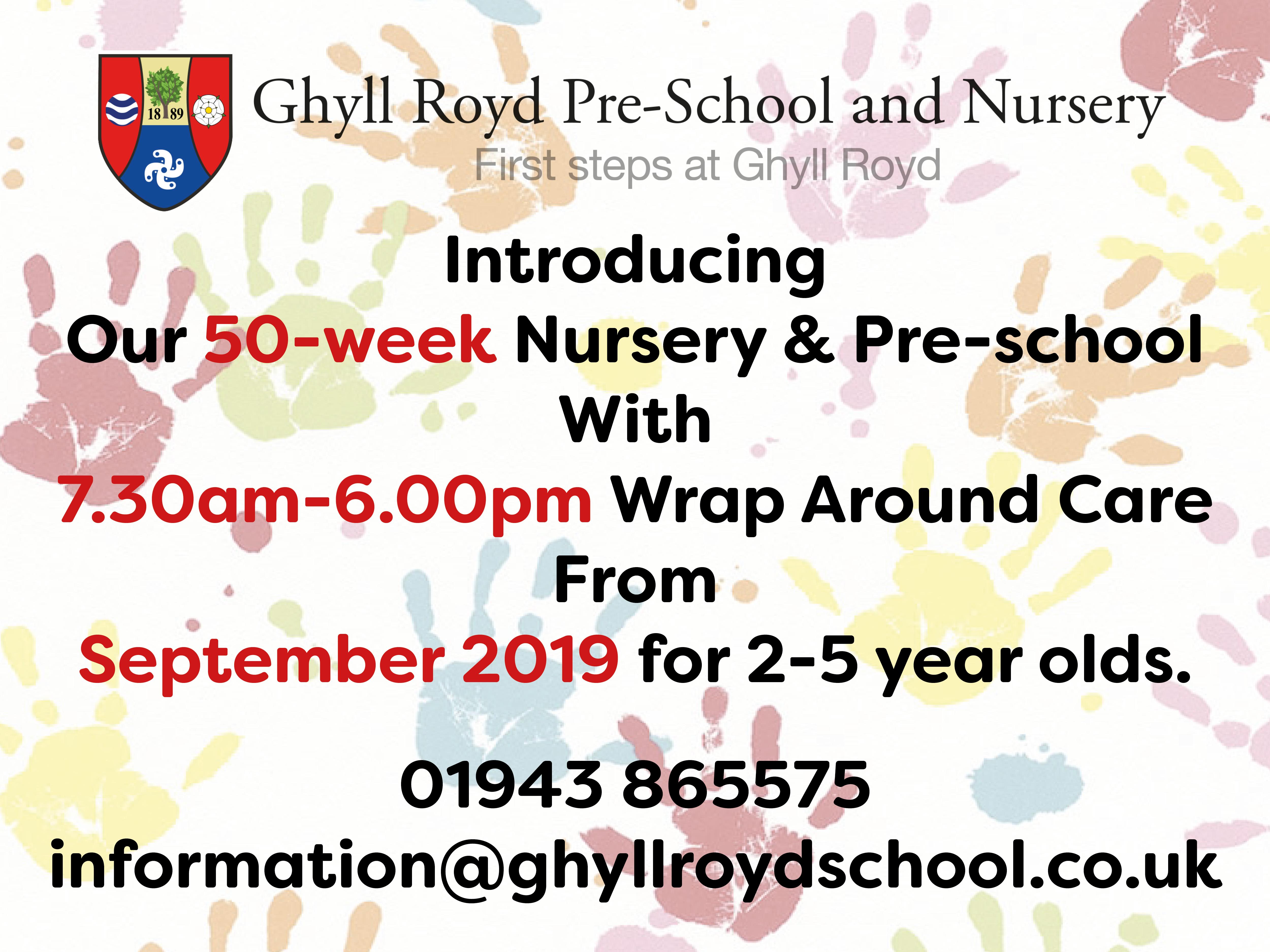 50 week nursery launch!