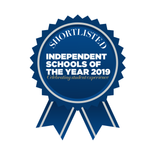 Independent Schools of the Year 2019 shortlisted rosette