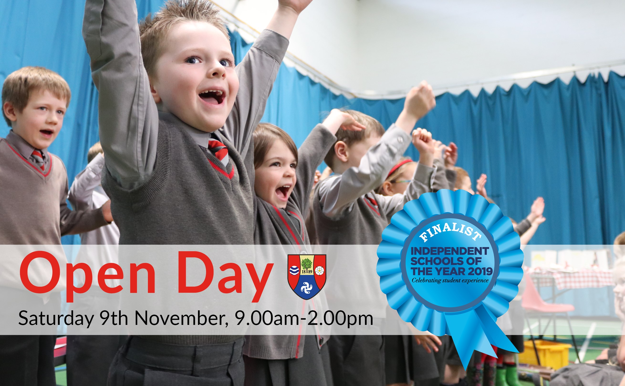 Independent School Open Day poster