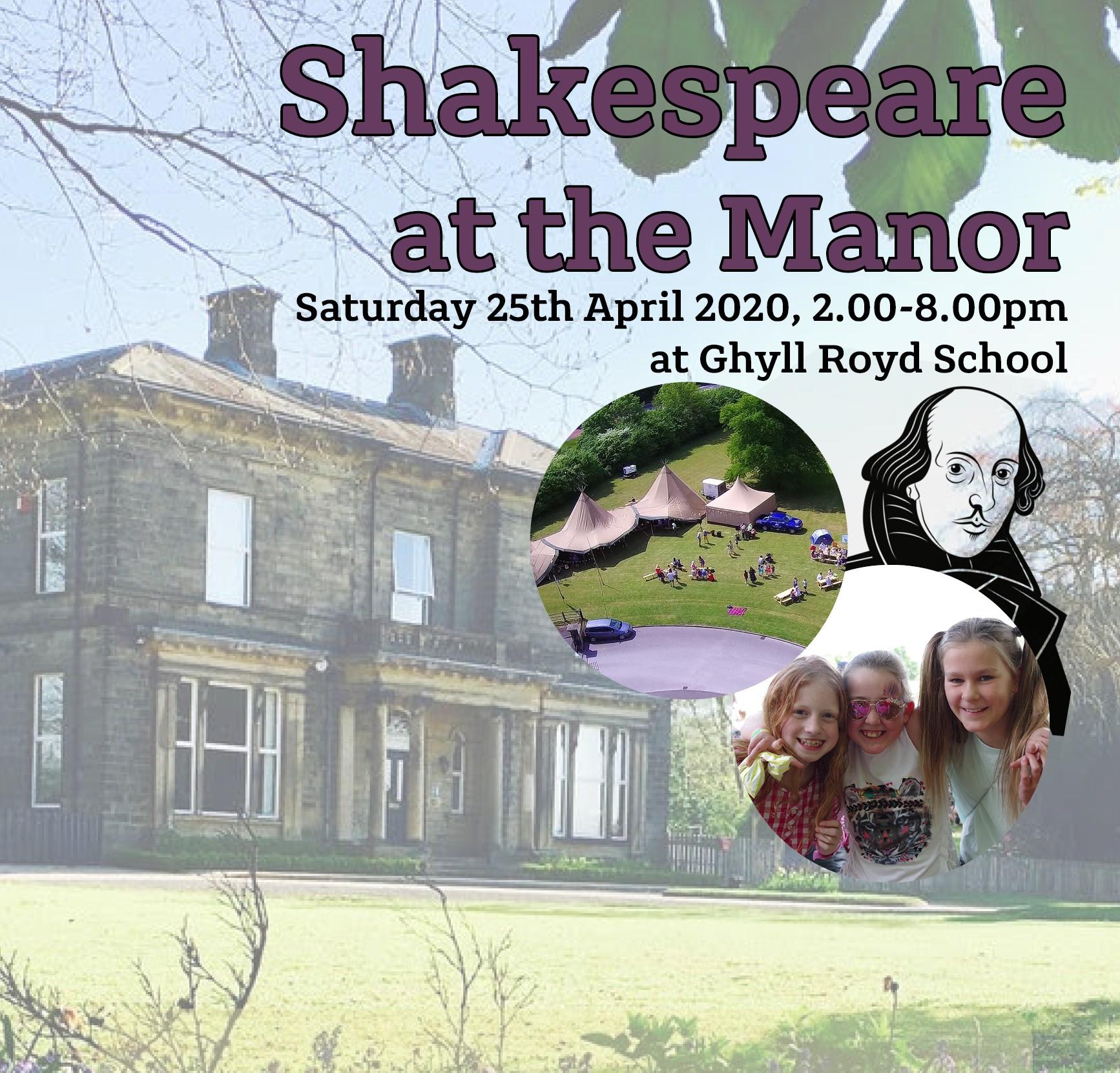 POSTPONED: Shakespeare at the Manor