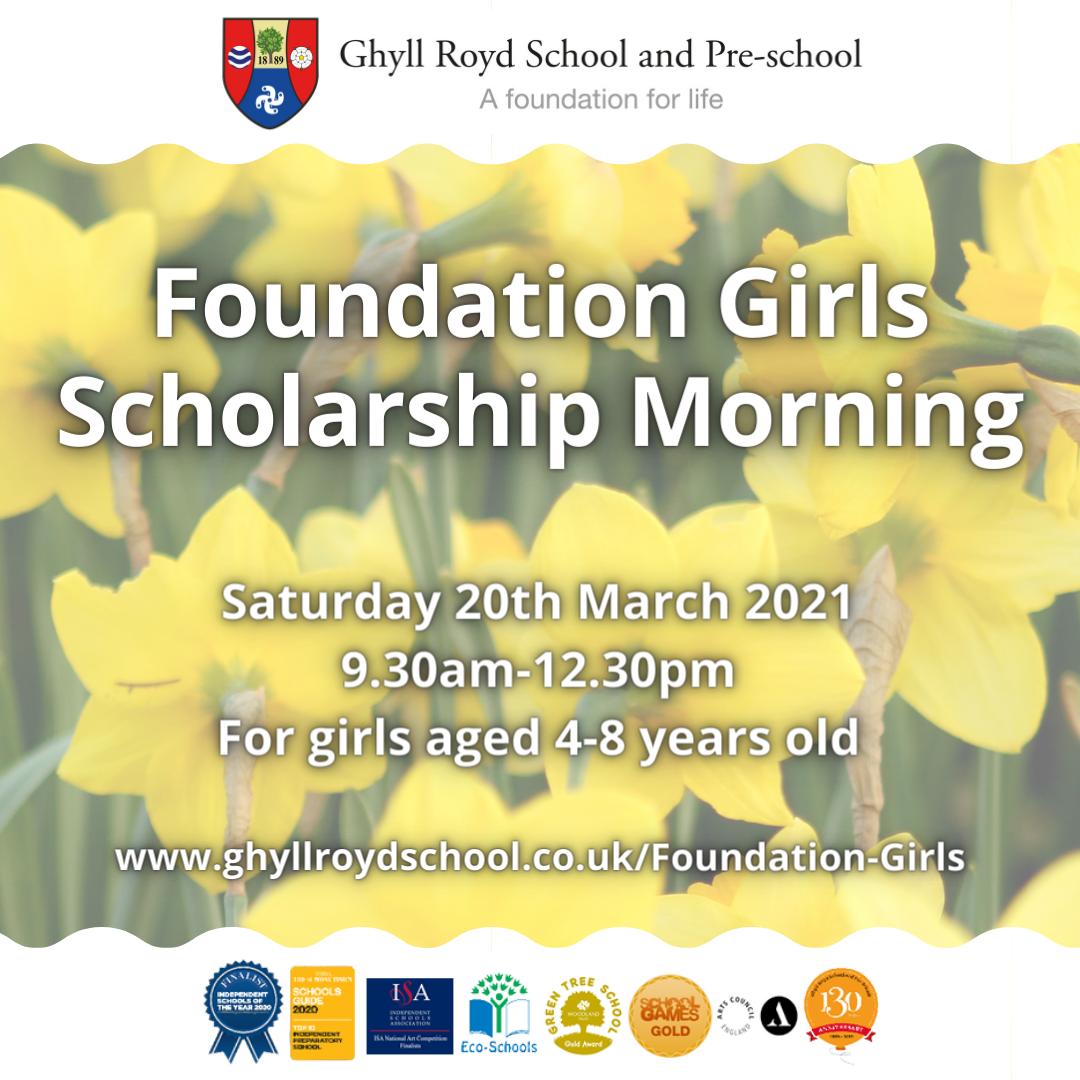 Foundation Girls Scholarship Morning