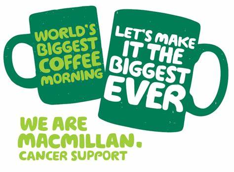 School Council Macmillan Coffee Morning