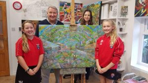Ilkley Primary Ghyll Royd welcomed artists like Ian Shuttleworth to school