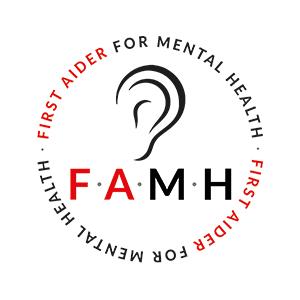 Mental Health First Aid badge
